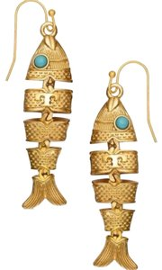 Tory Burch NEW! Tory Burch Fish Earring