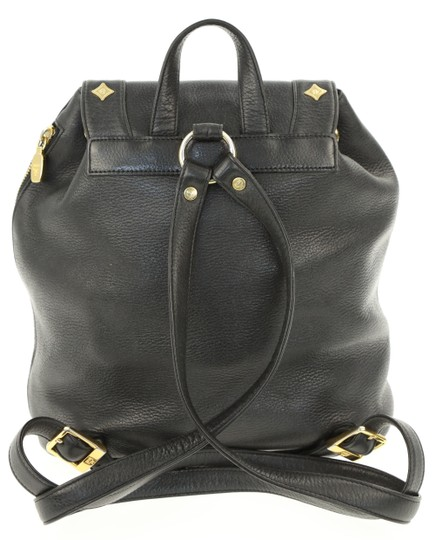 MCM Leather Studded Stark Palm Spring Montsouris Backpack Image 2