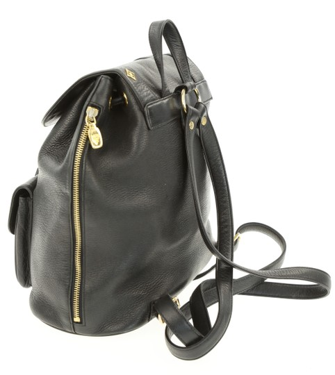 MCM Leather Studded Stark Palm Spring Montsouris Backpack Image 3