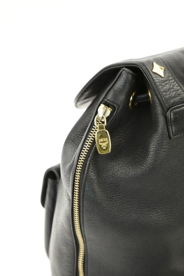 MCM Leather Studded Stark Palm Spring Montsouris Backpack Image 7