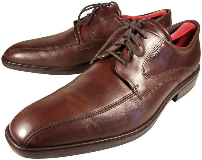 Item - Brown Leather Oxfords Formal Shoes Size EU 44 (Approx. US 14) Regular (M, B)
