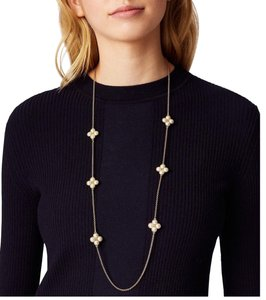 Tory Burch New! Tory Burch ROPE CLOVER ROSARY