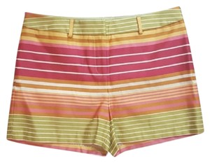 J. McLaughlin Mini/Short Shorts Pink Yellow