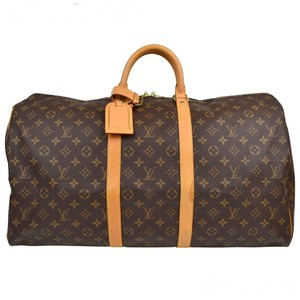 Louis Vuitton Keapall 50 55 brown Travel Bag