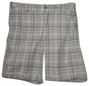 Abercrombie & Fitch Embroiderd Plaid Bermuda Shorts Multi-Color