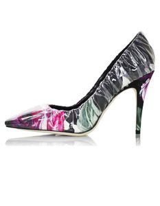 Jimmy Choo Ruched Floral multi Pumps