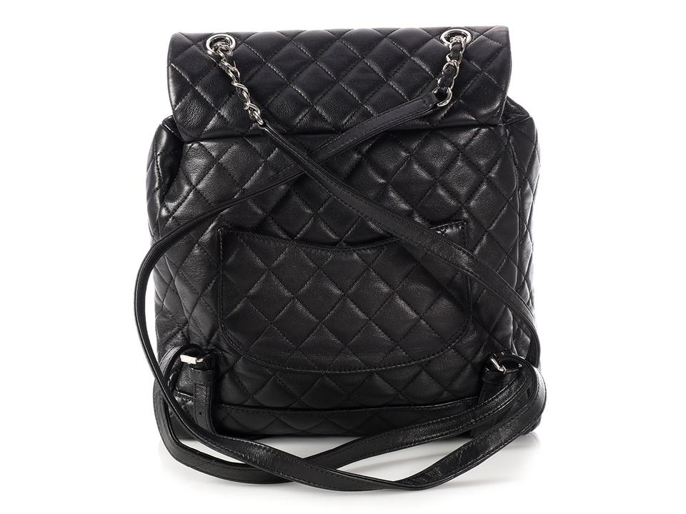 c38b6a762cf8 Chanel *bid On Ebay*large Quilted Urban Spirit Black Lambskin ...
