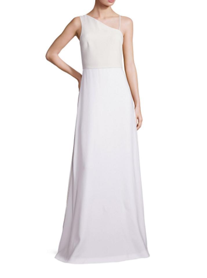 Elizabeth and James Wite Women\'s Bianca Asymmetrical Gown Long ...