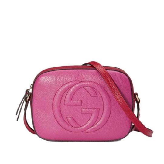 55dc117a800aca Gucci Soho Disco Bag Pink And Red | Stanford Center for Opportunity ...