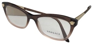 Versace New VERSACE Eyeglasses MOD. 3224 5165 54-17 Brown Fade Lilac CatEye