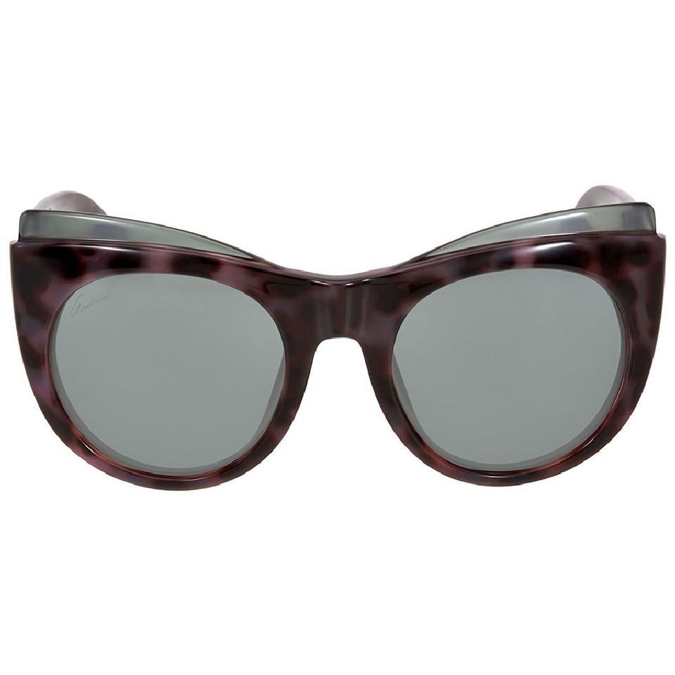8a7fbefe4a Gucci Havana Pink Cat Eye Unisex Sunglasses - Tradesy