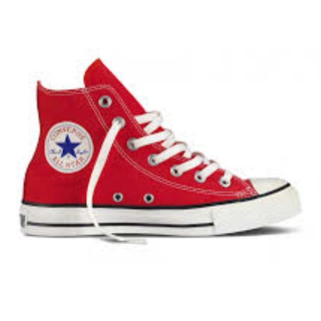 Item - Red Chuck Taylor Sneakers Size US 7 Regular (M, B)