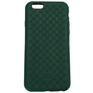 Gucci GUCCI 399029 GG Microguccissim Iphone 6 Cover, Green