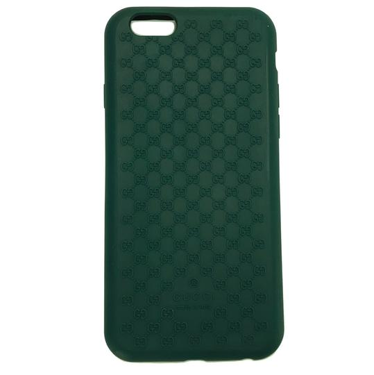 Gucci GUCCI 399029 GG Microguccissim Iphone 6 Cover, Green Image 1