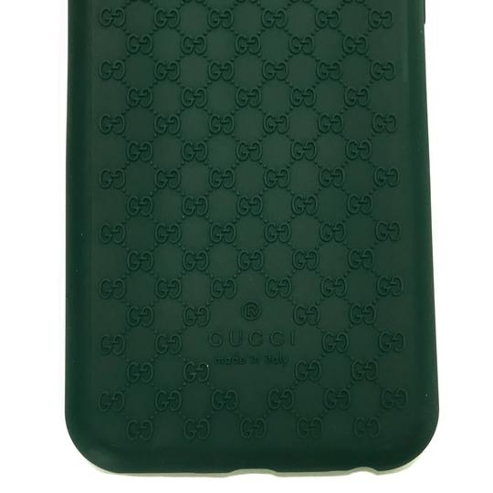 Gucci GUCCI 399029 GG Microguccissim Iphone 6 Cover, Green Image 8