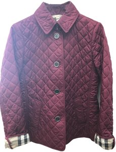 Burberry Quilted Fuschia Jacket