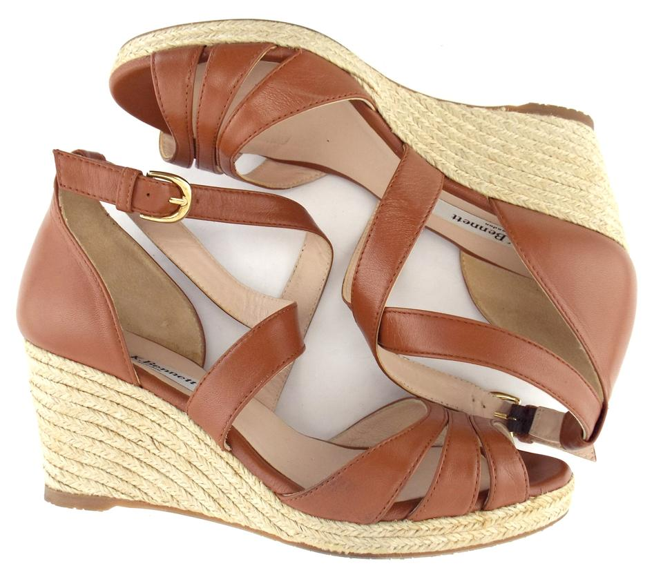 8a5531d7d73 L.K. Bennett Brown Espadrille Wedge Sandals Size EU 36 (Approx. US 6 ...