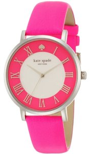 Kate Spade Kate Spade Ladies Metro Grand Pink Leather Strap Watch 1YRU0549