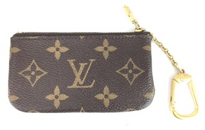 Louis Vuitton Monogram Zippy key cles Pocket Holder Card Case Coin Purse