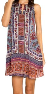 Lavender Brown short dress on Tradesy