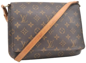 Louis Vuitton Lv Mono Tango Cartouchiere Gm Shoulder Bag