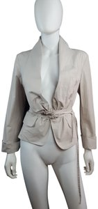 Céline Cotton Trench Belted Fitted TAN Jacket