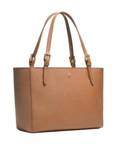 Tory Burch Large Tote in Luggage Brown