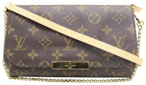 Louis Vuitton Favorite Canvas Cross Body Bag