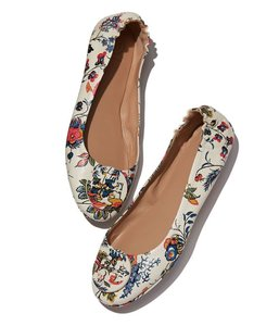 Tory Burch New Ivory Flats