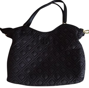 Tory Burch Quilted black Diaper Bag