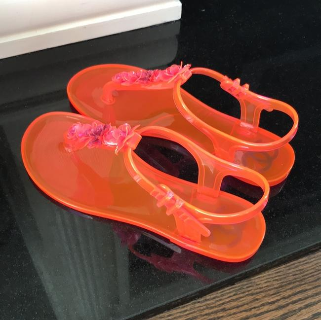 Chanel Pink Jelly Pvc Thongs Flats Sandals Size EU 37 (Approx. US 7) Regular (M, B) Chanel Pink Jelly Pvc Thongs Flats Sandals Size EU 37 (Approx. US 7) Regular (M, B) Image 5