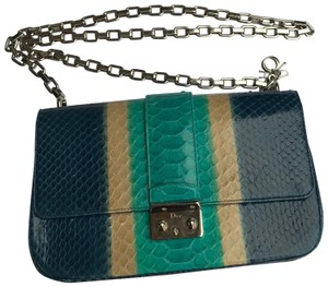 Dior Satchel in blue/turquoise