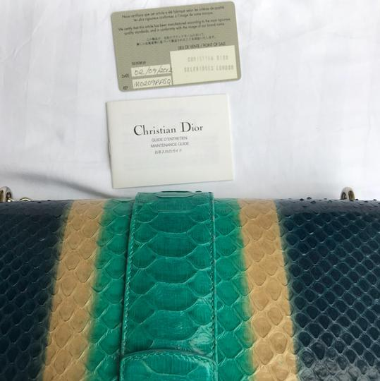 Dior Satchel in blue/turquoise Image 10