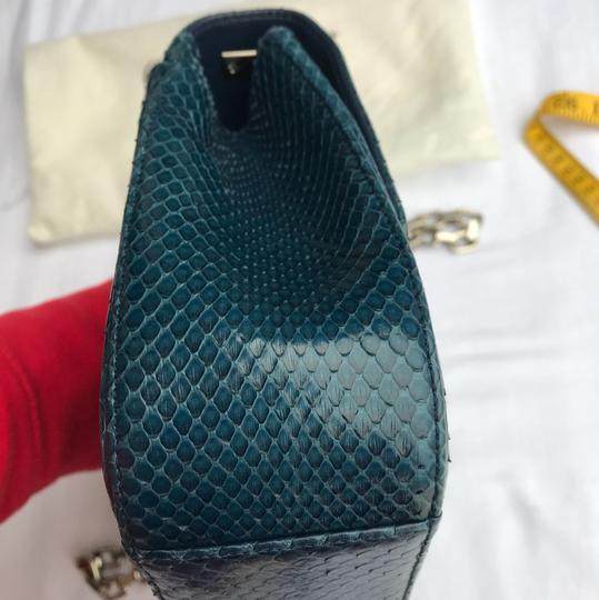 Dior Satchel in blue/turquoise Image 5
