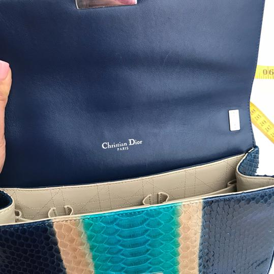 Dior Satchel in blue/turquoise Image 7