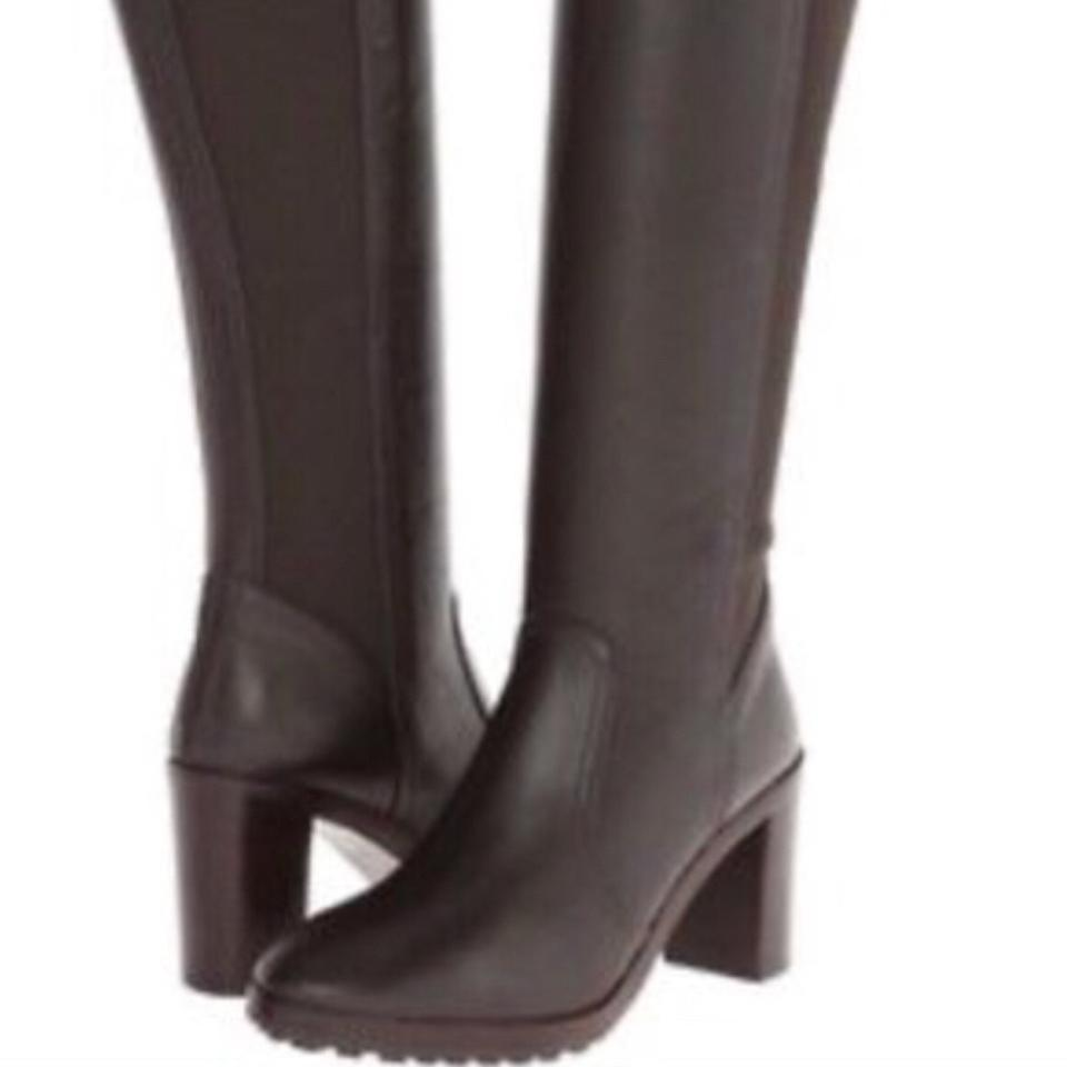 8bbf7764323c Tory Burch Brown Sullivan Tall Coconut Boots Booties Size US 8.5 ...