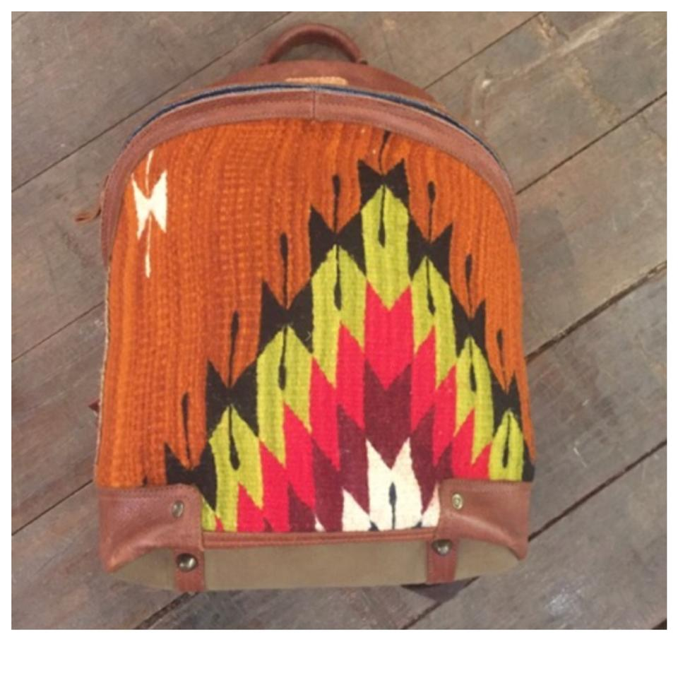 Will Leather Goods Oaxacan Dome Multicolor Wool and Backpack 31% off retail