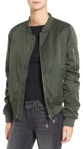 BB Dakota Bomber Green Bomber Chic Bomber Army Jacket