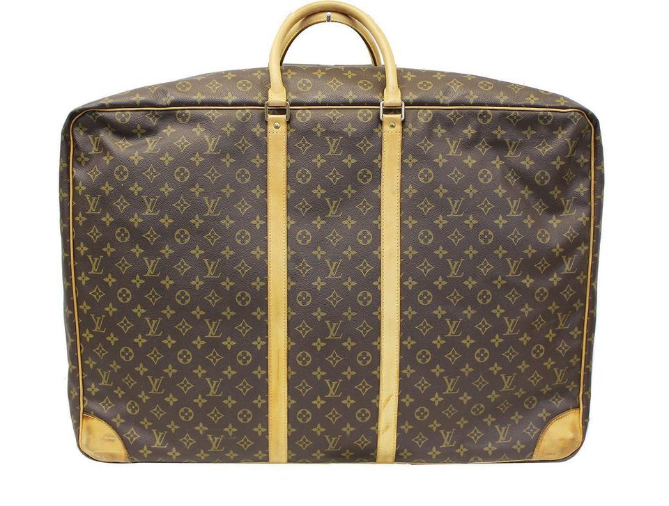 4bcb813ae07e Louis Vuitton Sirius Monogram Canvas 70 Soft Sided Suitcase Weekend ...