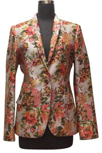 Stella McCartney Ivory with coral/ green multi Jacket