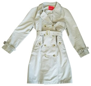 Isaac Mizrahi for Target Spring Rain Belted Cotton Trench Coat