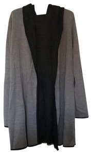 Blanc Noir Hooded Draped Pockets New Cardigan