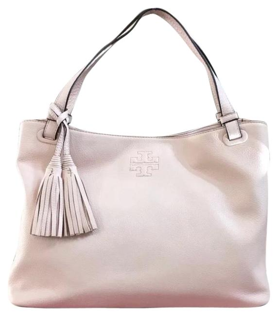 Item - Thea Center Zip Melon Pink Leather Tote