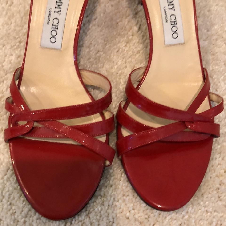 Red Sandals Choo Red Choo Jimmy Jimmy Sandals Choo Choo Red Sandals Red Jimmy Sandals Jimmy 4wqBpRBSX