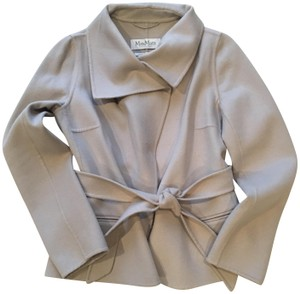 Max Mara Light Grey Jacket