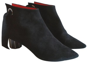 Proenza Schouler Leather Suede Black Boots