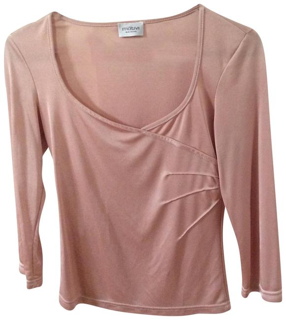 Item - Rose Pink Silky Blouse Size 4 (S)