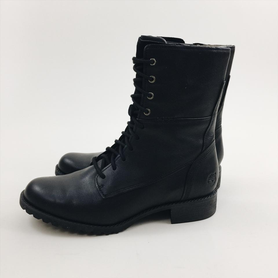 894af507 Timberland Black Banfield Mid Lace Leather Boots/Booties Size US 7 ...