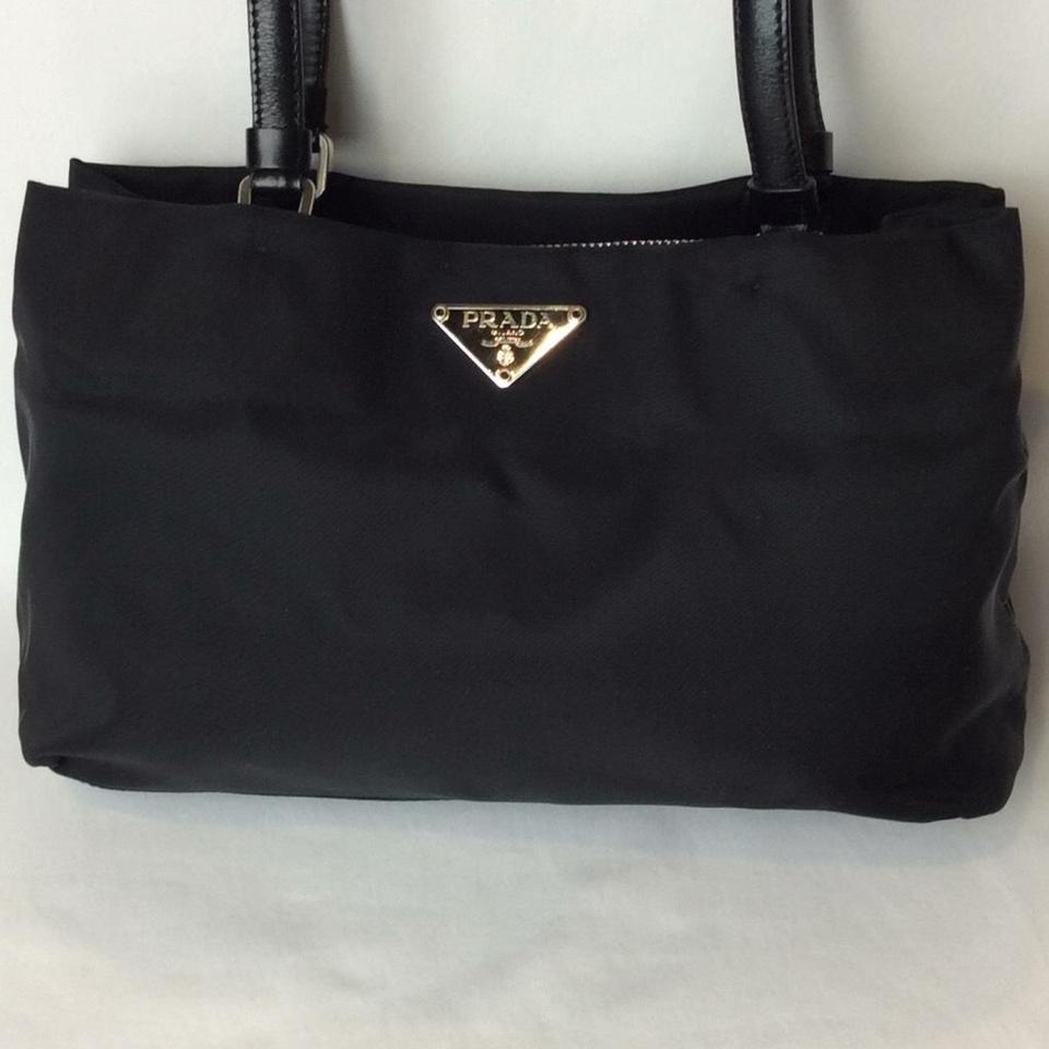 Nylon Small Prada Shoulder Bag Black Tote 1qYAxRZ6w8