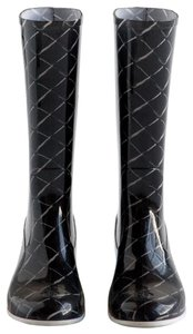 Chanel Patterned Boots